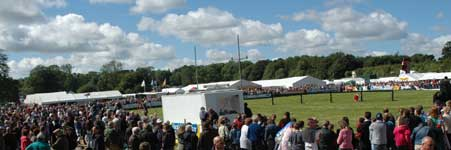 Irish Country Lifestyle Festival crowds